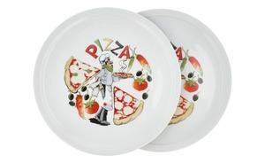 Pizzateller, 2er-Set