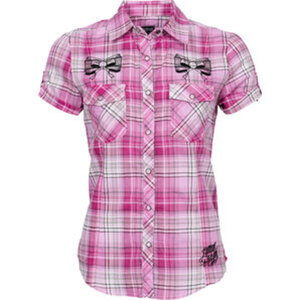 Lethal Angel Rockabilly Bluse        B-Ware
