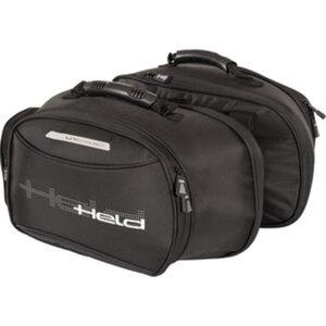 Held Velcro-System, 1 Paar        Satteltasche Lombarda, schwarz, 8-14 L