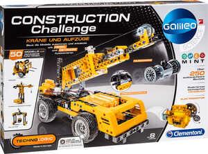 CLEMENTONI  Construction Challenge »Kräne und Aufzüge«
