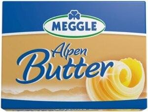 Meggle Alpenbutter oder Meggle Streichzart
