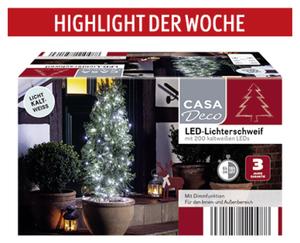 CASA Deco LED-Lichterschweif