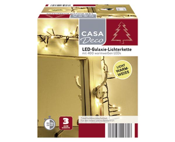 CASA Deco LED-Galaxie-Lichterkette