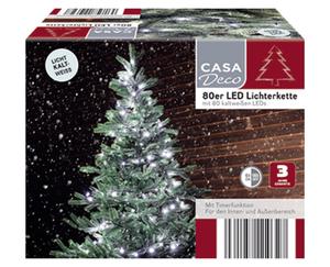 CASA Deco 80er LED-Lichterkette