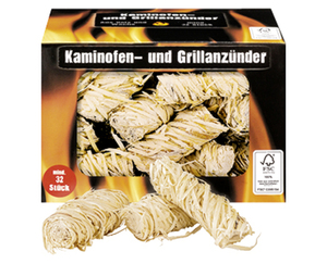 Kaminofen- und Grillanzünder