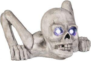 LED-Skelett - aus Polyresin - 37 x 43 x 24,5 cm