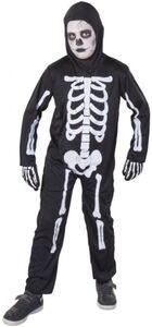 Kostüm - Skelett - für Kinder - 2-teilig - verschiedene Größen