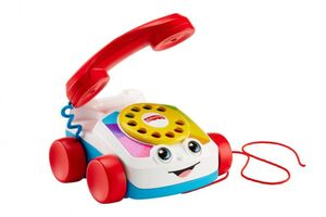 Fisher-Price - Plappertelefon zum Nachziehen