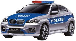 Besttoy - RC Polizei BMW X6 - 1:14