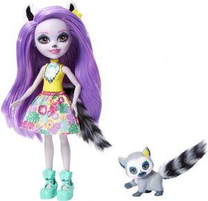 Enchantimals - Lemurenmädchen - Larissa Lemur