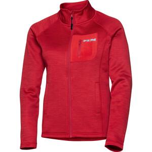 FLM            Fleece Jacke Damen 3.0 rot