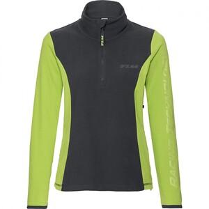 FLM            Damen Fleeceshirt 2.0 grau/grün XS