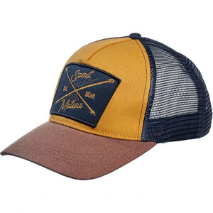 Spirit Motors            Retro Trucker Cap 1.0 beige/blau