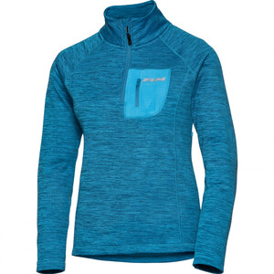 FLM            Fleece Pullover Damen 3.0 blau