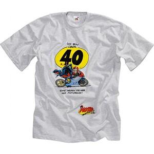 Motomania            T-Shirt über 40 grau