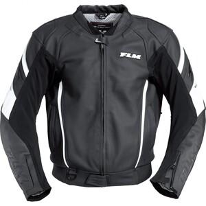 FLM            Sports Leder Kombiblouson 2.0 schwarz/weiß 62