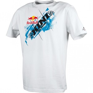 KINI Red Bull            T-Shirt Chopped Tee weiß