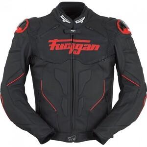 Furygan            Raptor Lederjacke schwarz/rot S