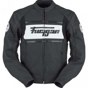 Furygan            Houston Amo II Lederjacke schwarz/weiß L