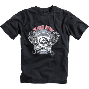 Spirit Motors            Rebell Wear T-Shirt schwarz M