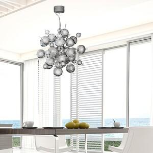 home24 LED-Pendelleuchte Molecule