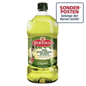 Bertolli Natives Olivenöl jede 2-Liter-Flasche