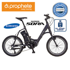 Alu-E-Bike City Genießer e9.01 20er - Fahrunterstützung bis ca. 25 km/h - Samsung Li-Ionen-Akku 36 V/10,4 Ah, 396 Wh - Reichweite: bis ca. 100 km (je nach Fahrweise) - Alu-V-Bremsen - Rahmenhöhe: