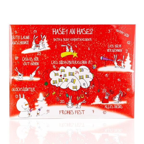 "Beauty Adventskalender ""VON HASE 1 AN HASE 2"""
