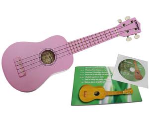 Clifton Ukulelen Set Pink