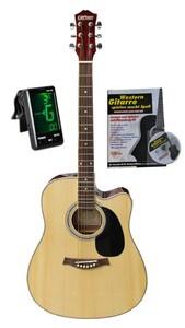 "Clifton Western Gitarre 41"" Cutaway Natur"