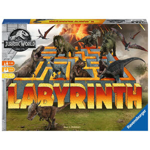 RAVENSBURGER Gesellschaftspiel Jurassic World Labyrinth Familienspiel