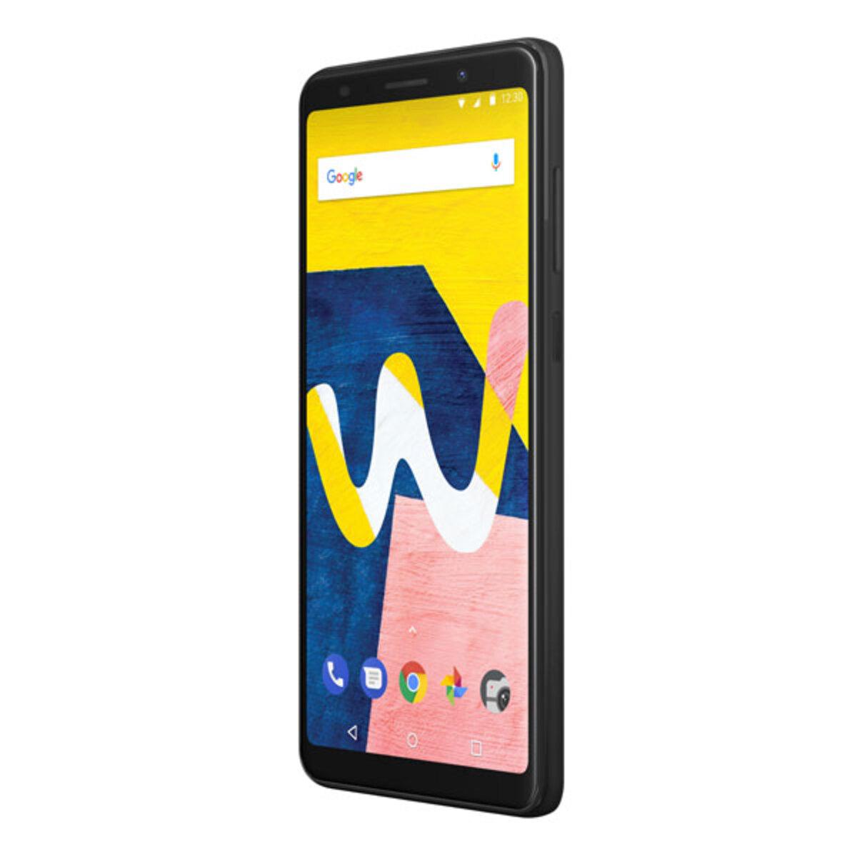 Bild 1 von Wiko View Lite 13,8cm (5,45 Zoll), 2GB, 16GB, 13MP, Android 8.1, Farbe: Anthrazit