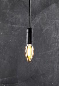 I-Glow Leuchtmittel Filament Gold - Kerze, E14, 4W