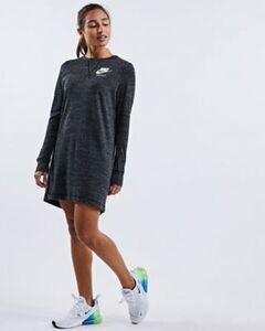 Nike GYM VINTAGE DRESS - Damen lang
