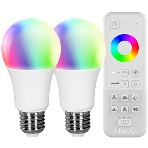 MüllerLicht tint Starter-Set 2x LED-Lampe white+color plus tint-Fernbedienung
