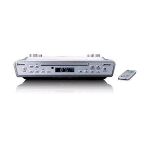 Lenco Küchenradio KCR-150WH, Farbe: Weiß