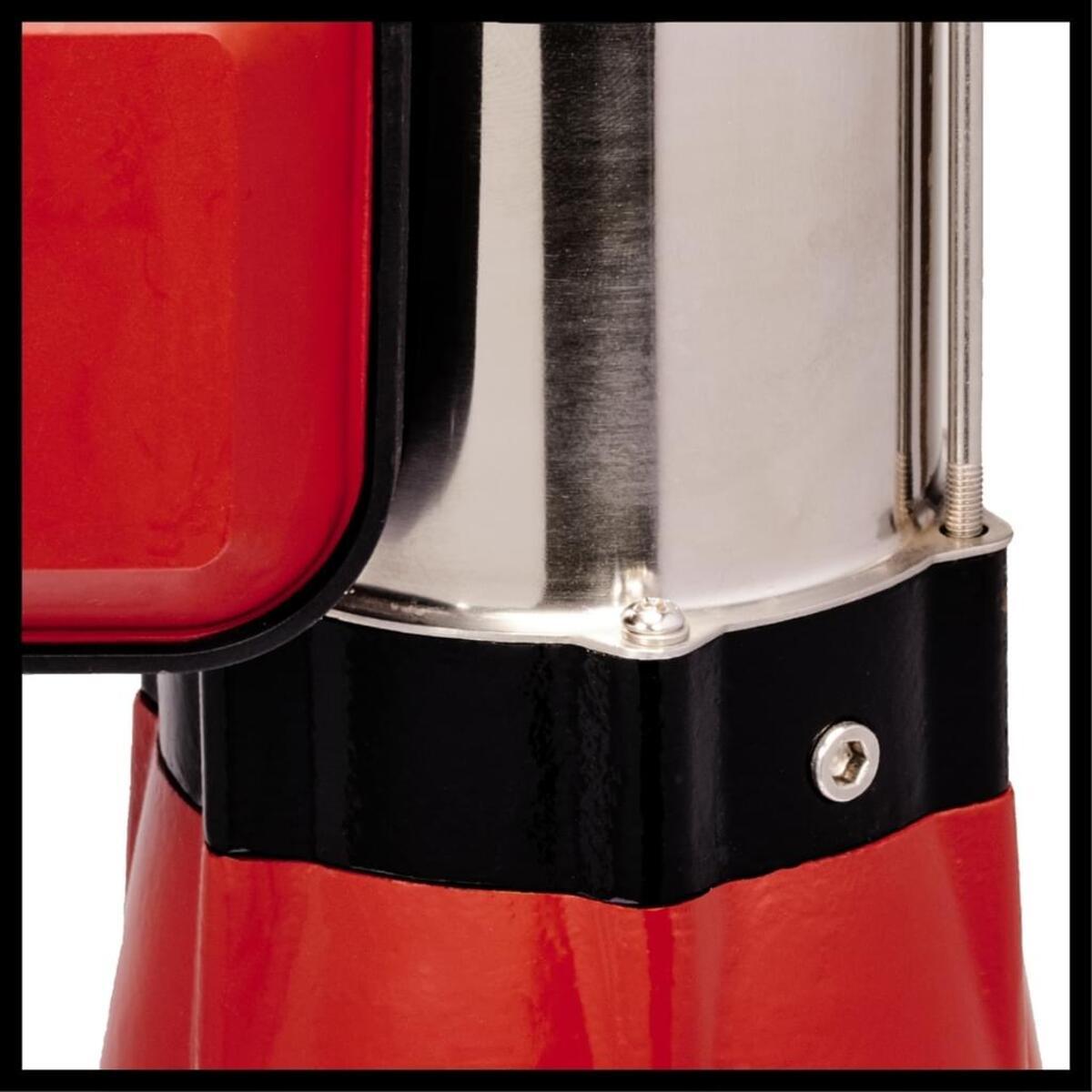 Bild 4 von Einhell Schmutzwasserpumpe GC-DP 5010 G, Leistung 500 Watt, Fördermenge max. 12000 l/h, Förderhöhe max. 8 m, Eintauchtiefe max. 5 m, Fremdkörpergröße max. 10 mm, stufenlos verstellbarer Schwimm