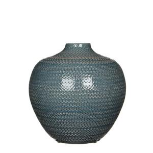 Gabriel Flasche blau - h25xd26cm