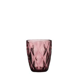Boulogne Glas violett - h10xd8cm
