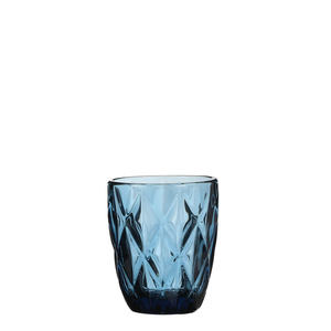 Boulogne Glas blau - h10xd8cm