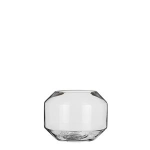 Farah Vase glas - h15,5xd20cm