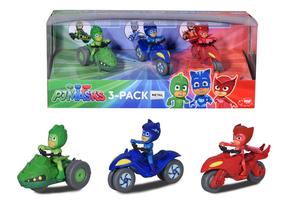 Dickie Toys Spielfahrzeuge PJ Masks 3-Pack