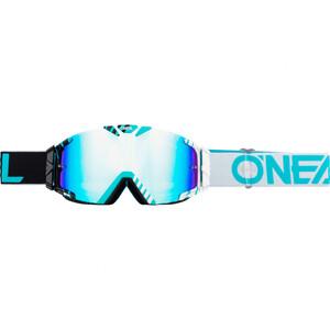 O'Neal            B-30 Duplex Crossbrille Radium schwarz/weiß/blaugrün