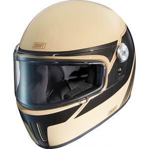 Craft            Integralhelm 1.0 - Retro 3C Creme/Black design