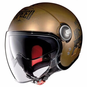 Nolan            N21 Visor Moto GP Scratched Flat Copper #31 S