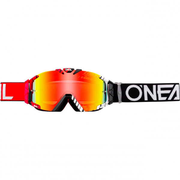 O'Neal            B-30 Duplex Crossbrille Radium schwarz/rot/weiß