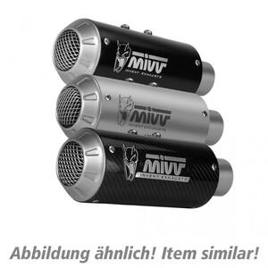 MIVV            MK3 Auspuff silber Y.057.LM3X für Yamaha MT-10 /SP