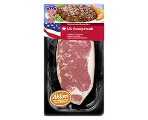 AMERICAN US-Rib-Eye oder Rumpsteak