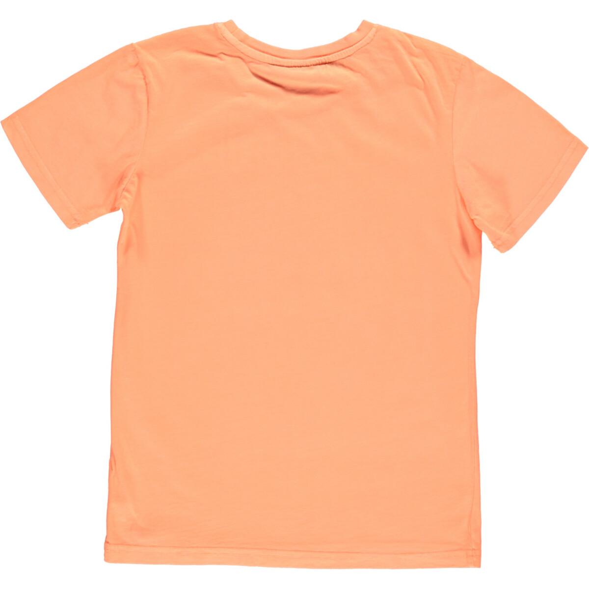 Bild 2 von Jungen T-Shirt in Neonfarbe und Print