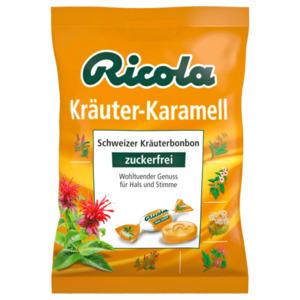 Ricola Kräuter Karamell ohne Zucker 75g